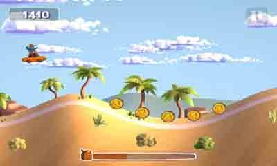 Sunny hillride captura de pantalla 1