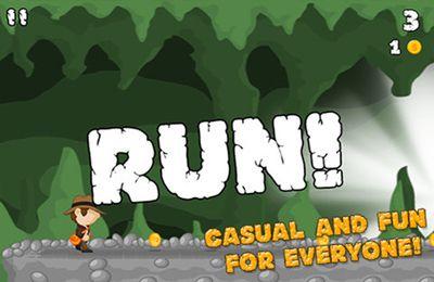 Скріншот Cave Run на iPhone