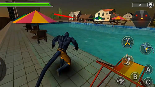 Ultimate mutant warrior 3D screenshot 2