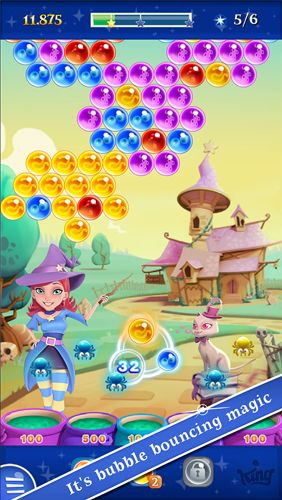 Sorcière avec les bulles 2: Saga