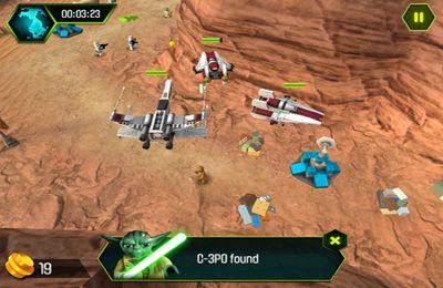 iPhone用ゲーム レゴスター・ウォーズ:ヨーダクロニクル のスクリーンショット