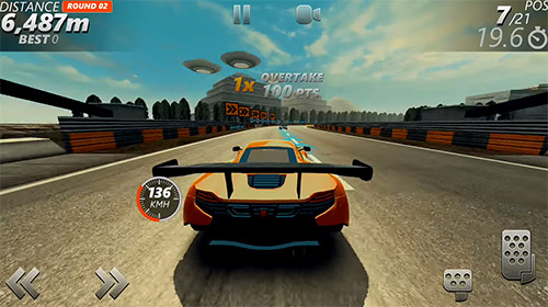 Гонки: скачать Dirt car racing: An offroad car chasing game на телефон