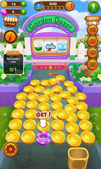 Glücksspiel Coin mania: Garden dozer für das Smartphone