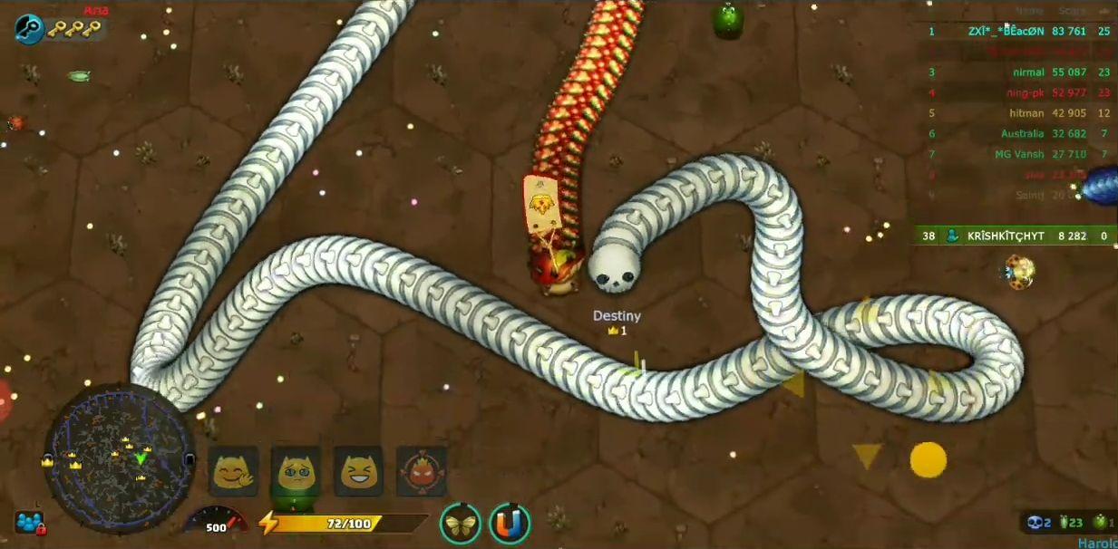 Little Big Snake capture d'écran 1