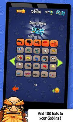 Arcade-Spiele Fruits'n Goblins für das Smartphone