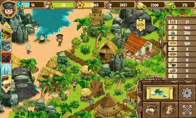 Strategie Pirate Explorer The Bay Town für das Smartphone