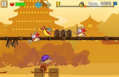 Ninja Chicken 3: The Runner in English