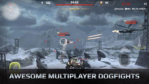 Helicópteros de combate para iPhone