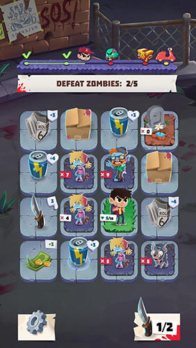 Kids vs. zombies для Android