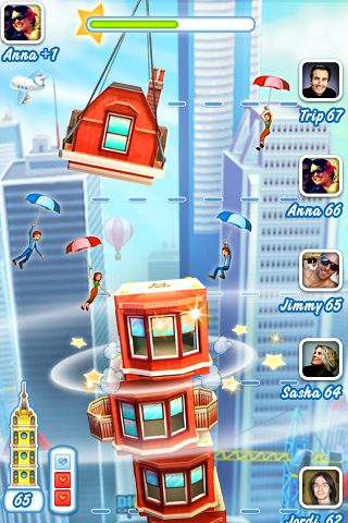 Screenshot Tower Bloxx: Deluxe 3D auf dem iPhone