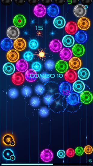 Magnetic balls 2: Glowing neon bubbles Screenshot