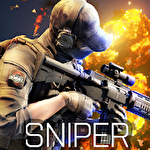 Blazing sniper: Elite killer shoot hunter strike ícone