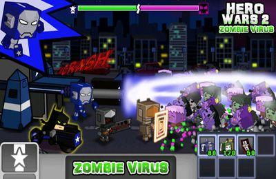 Arcade-Spiele: Lade Kriegshelden 2: Zombievirus auf dein Handy herunter