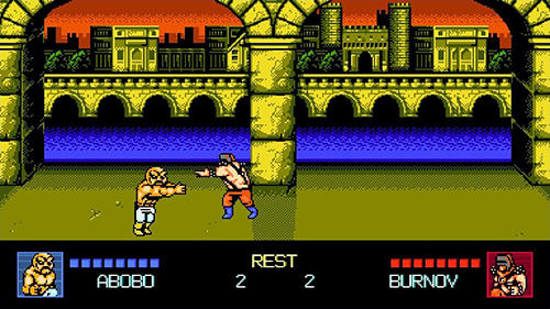 Arcade-Kämpfe Double dragon 4 auf Deutsch