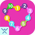 Connect the dots: Learn numbers icono