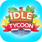 Idle tycoon: Crystal mine, diamond mine and gold mine Symbol