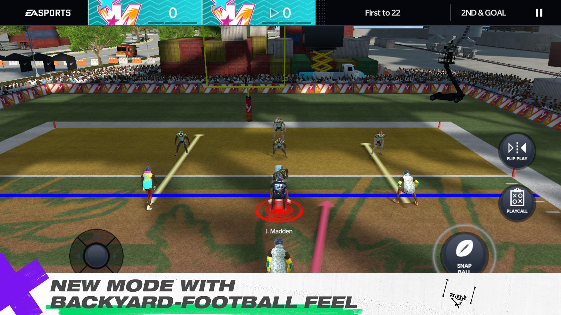 Madden NFL 21 Mobile Football captura de pantalla 1