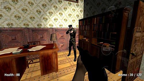 Actionspiele Slenderman history: WW 2 zombies für das Smartphone