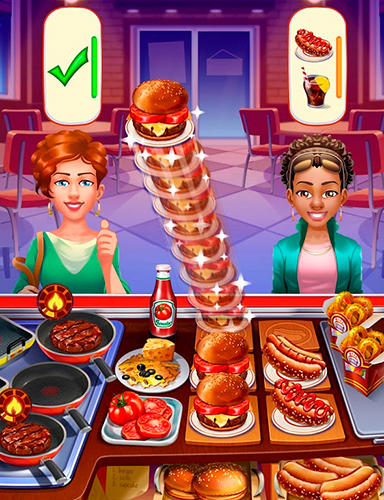Cooking craze: A fast and fun restaurant game для Android