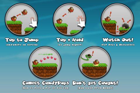Arcade-Spiele: Lade Die Flucht vom dicken Vogel Tony auf dein Handy herunter