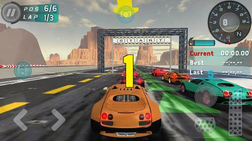 Hot racer in English