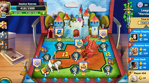 Arcade Diamonds time: Mystery story match 3 game für das Smartphone
