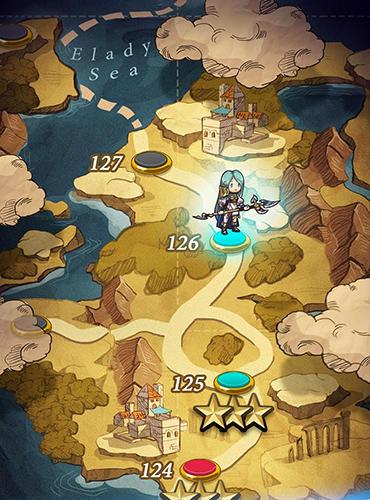 Arcade Puzzle fantasy battles: Match 3 adventure games für das Smartphone