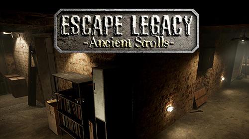 Escape legacy: Ancient scrolls VR 3D screenshot 1
