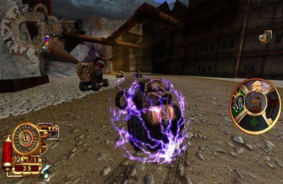 Steampunk Rennen 3D für iPhone