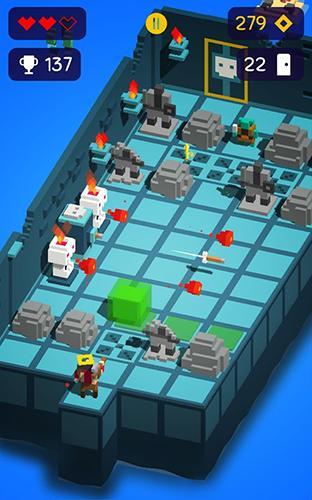Arcade-Spiele Looty dungeon für das Smartphone