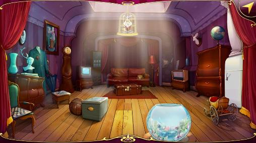 First-person adventure games Hare in the hat in English