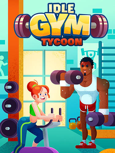 logo Idle fitness gym tycoon