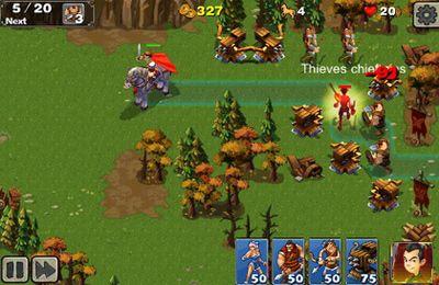 Captura de tela Defesa da Império 2 no iPhone