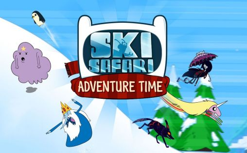 Ski safari: Adventure time screenshot 1