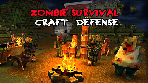 Zombie survival craft: Defense captura de tela 1
