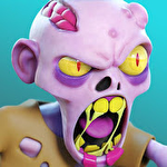 Zombie paradise: Mad brains show icon