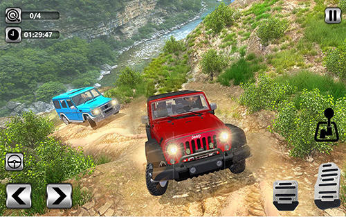 Offroad jeep driving 2018: Hilly adventure driver für Android