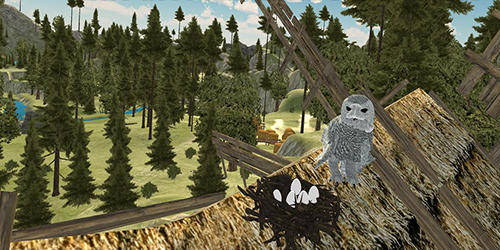Flying owl simulator 3D pour Android