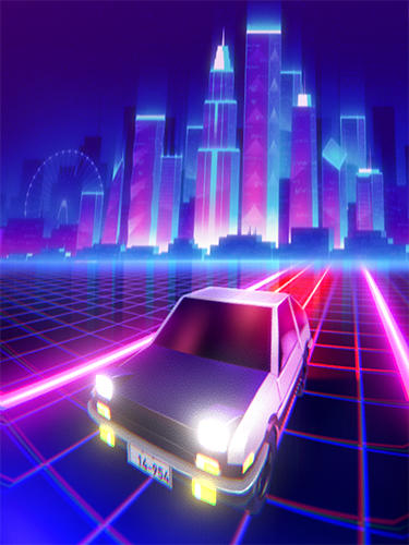Beat rider: Retrowave race英语