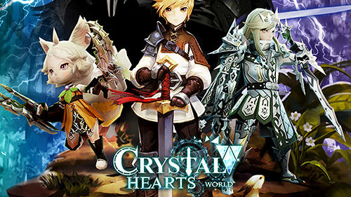 Crystal hearts world Screenshot