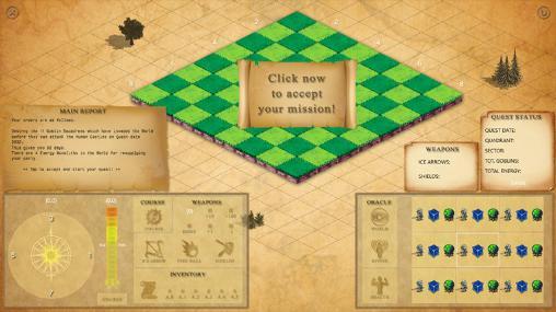 Dark worlds: Age of wars screenshot 1