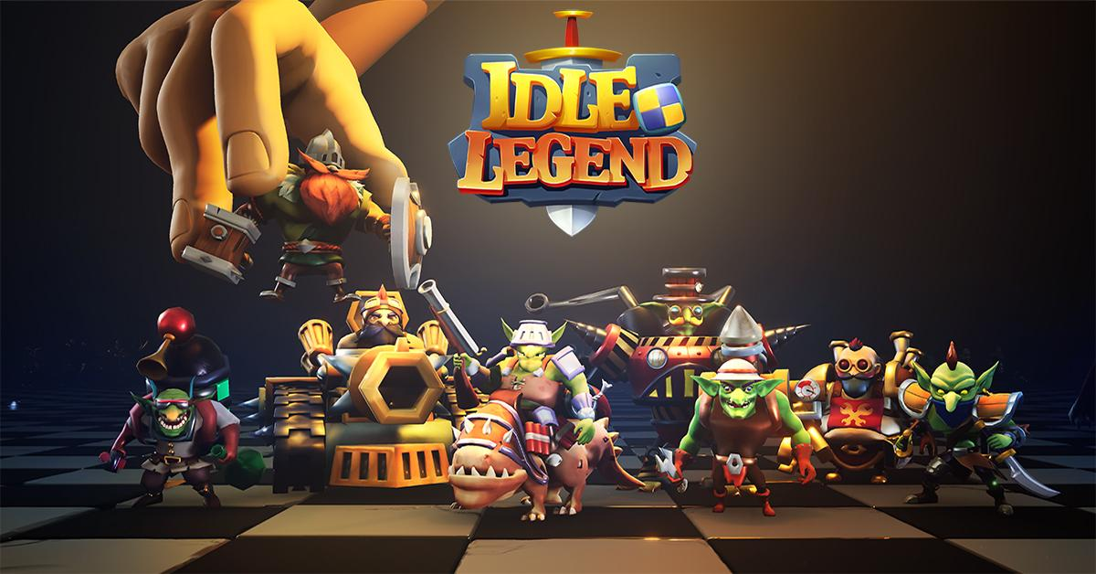Idle Legend- 3D Auto Battle RPG скріншот 1