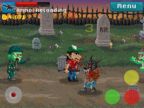 Screenshot Pixel Tod auf dem iPhone