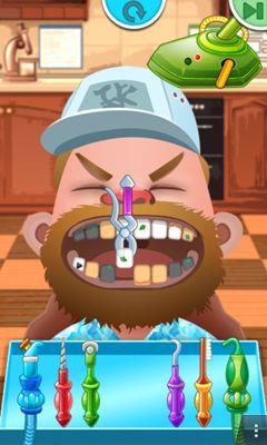 Juegos sobre doctores Crazy Dentist en español