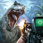Jurassic missions: Free offline shooting games ícone