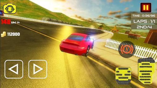 Rennspiele Crazy racing mania für das Smartphone