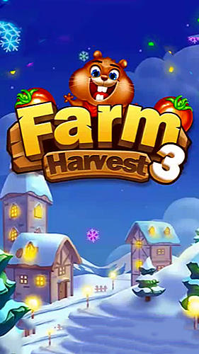 Match 3 game: Chipmunk farm havest Screenshot