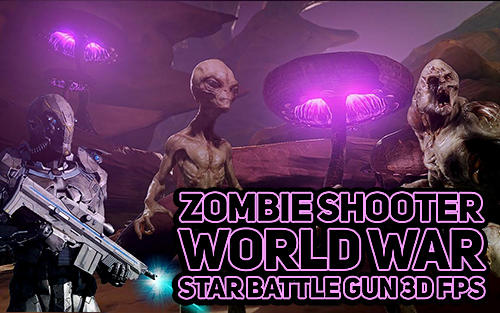 Zombie shooter world war star battle gun 3D FPS captura de pantalla 1