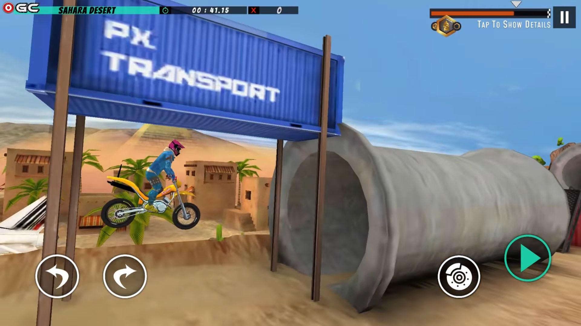 Велосипед   трюк 3d гоночный бесплатная игра скриншот 1