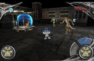 Le Chat Froussard 3D Deluxe en russe
